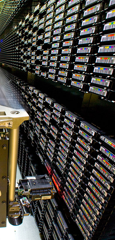 Photo of a Hierarchical Data Storage System