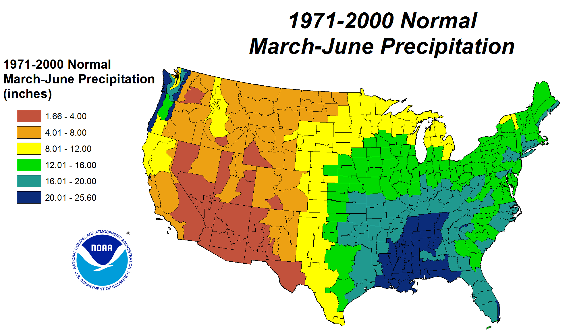 Drought June State Of The Climate National Centers For - Agricultural areas us map