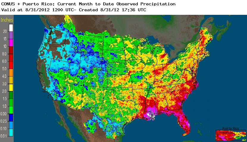 Noaa Precipitation Map My Blog - Precipitation map of us