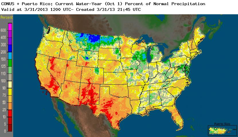 Drought - March 2013   State of the Climate   National Centers for ...