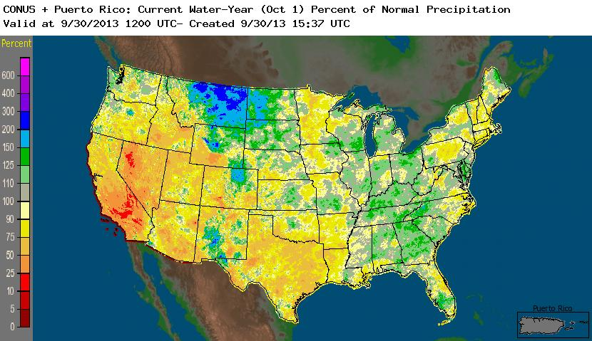 Drought September 2013 State of the Climate National Centers