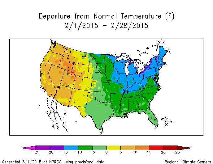 Synoptic Discussion February State Of The Climate - Map of weather patterns in the us