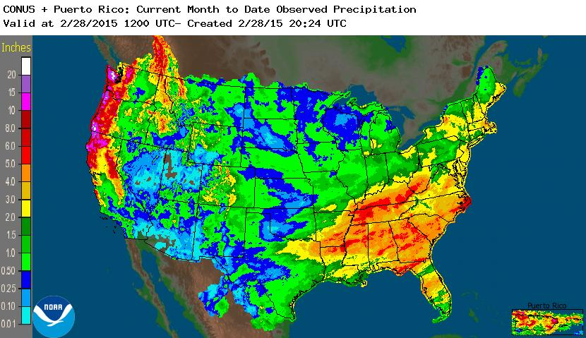 Synoptic Discussion February State Of The Climate - Current weather map western us