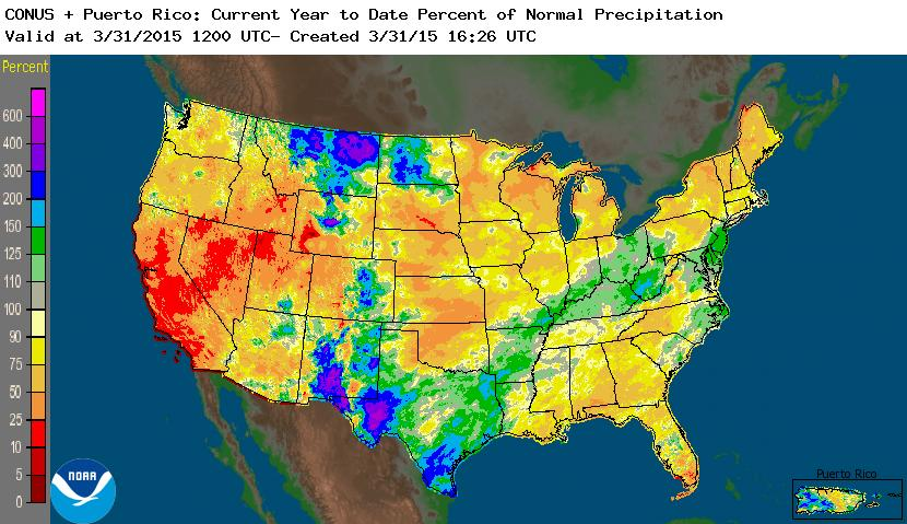 Drought March State Of The Climate National Centers For - Us snow cover map noaa