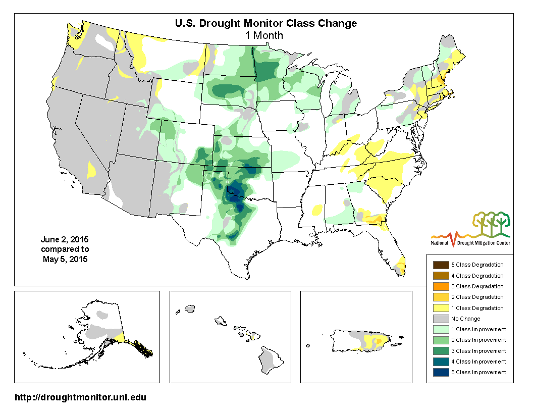 may 2015 ranked as the wettest may in the 1895 2015 record as well as the wettest month ever due largely to record rainfall in the plains on balance