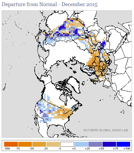 Synoptic Discussion December State Of The Climate - Us snow cover map noaa