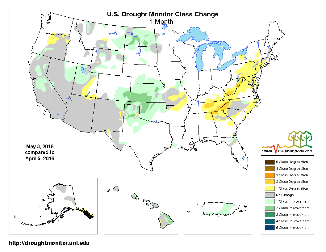 Drought April State Of The Climate National Centers For - Air masses map of us