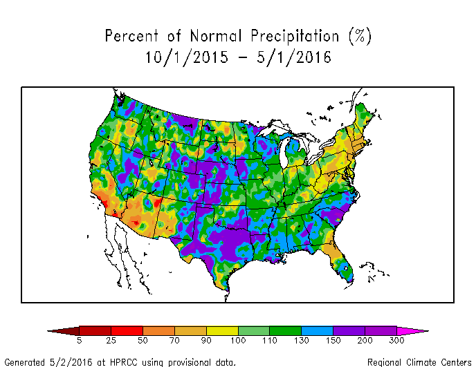 Drought April State Of The Climate National Centers For - Hard water map us