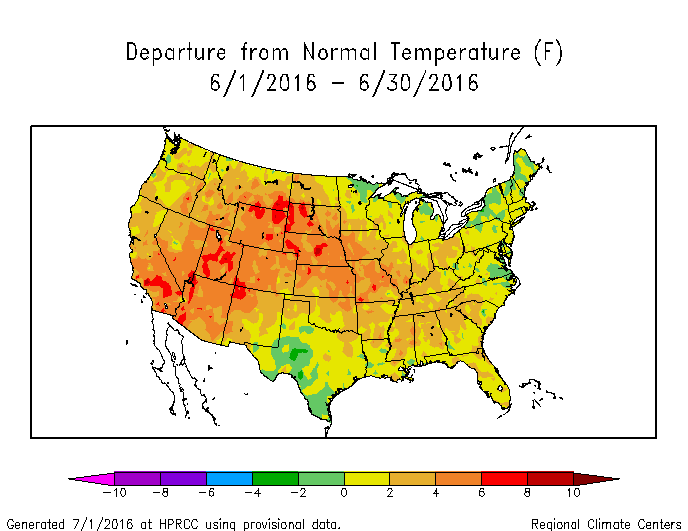 Drought June State Of The Climate National Centers For - Weather across the us map