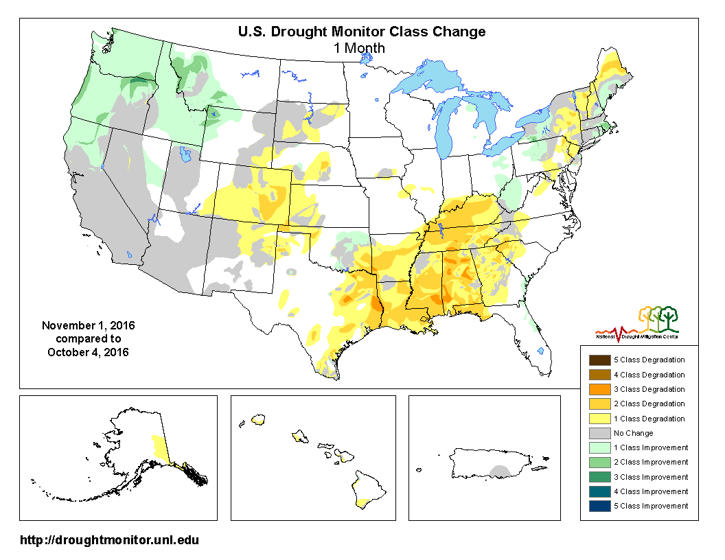 Drought October 2016 State of the Climate National Centers