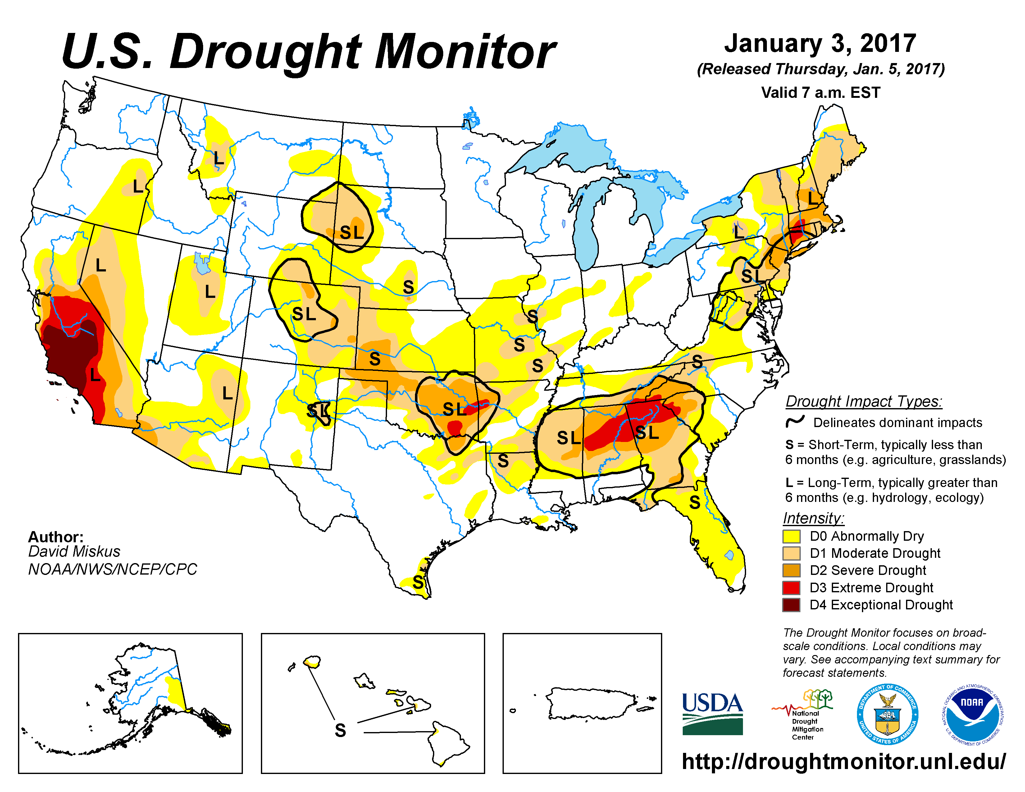 Drought Annual 2017 State of the Climate National Centers