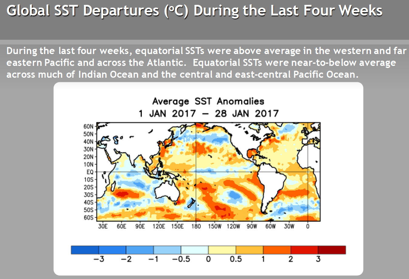 Synoptic Discussion  January 2017  State of the Climate