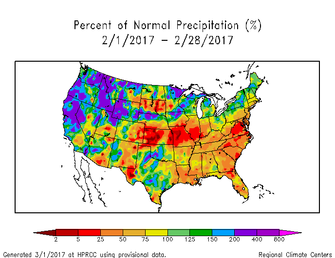 Drought February State Of The Climate National Centers - Alaska over the us map