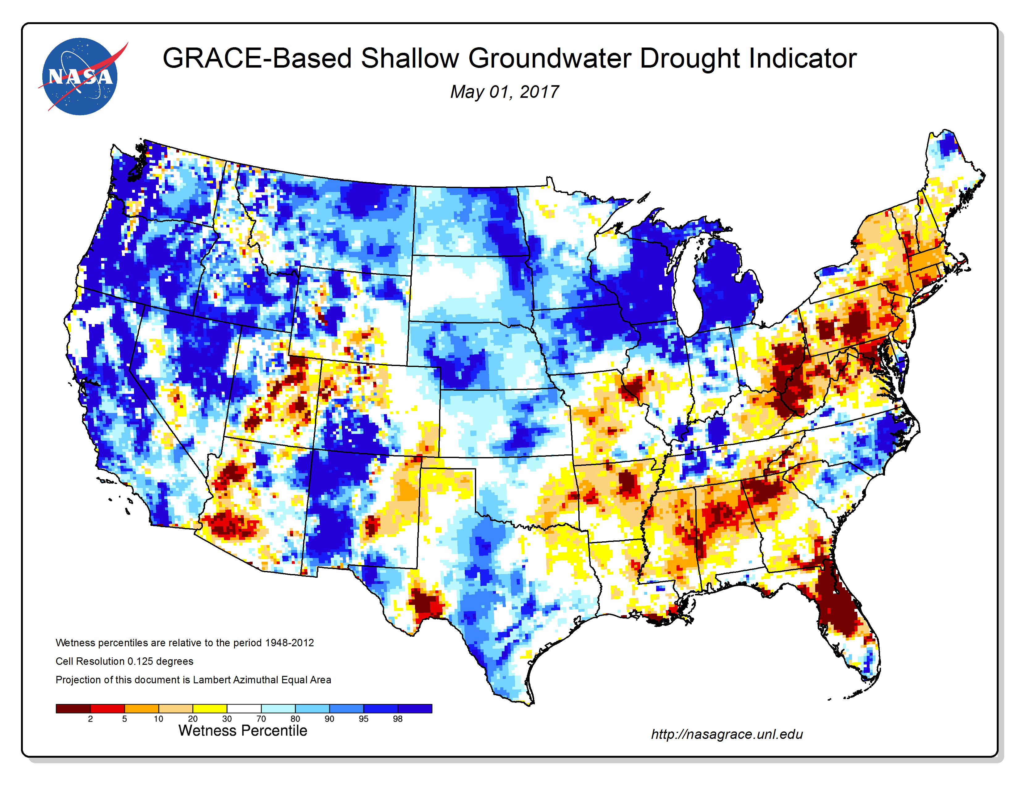 These Indicators Reflected Dry Conditions Especially In The Southeast On A National Scale As Of May 2 2017 Very Little Of The Agricultural Areas Of The