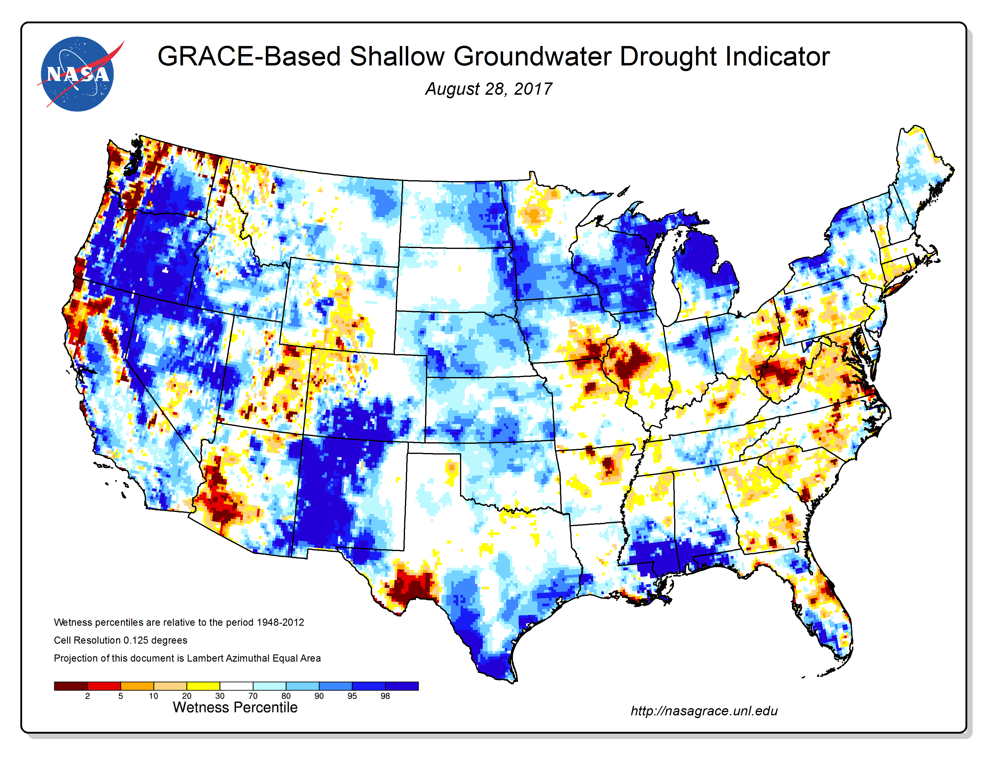 Drought Conditions At The End Of August 2017 Were Reflected In A Number Of Meteorological Hydrological And Agricultural Indicators Both Observed And