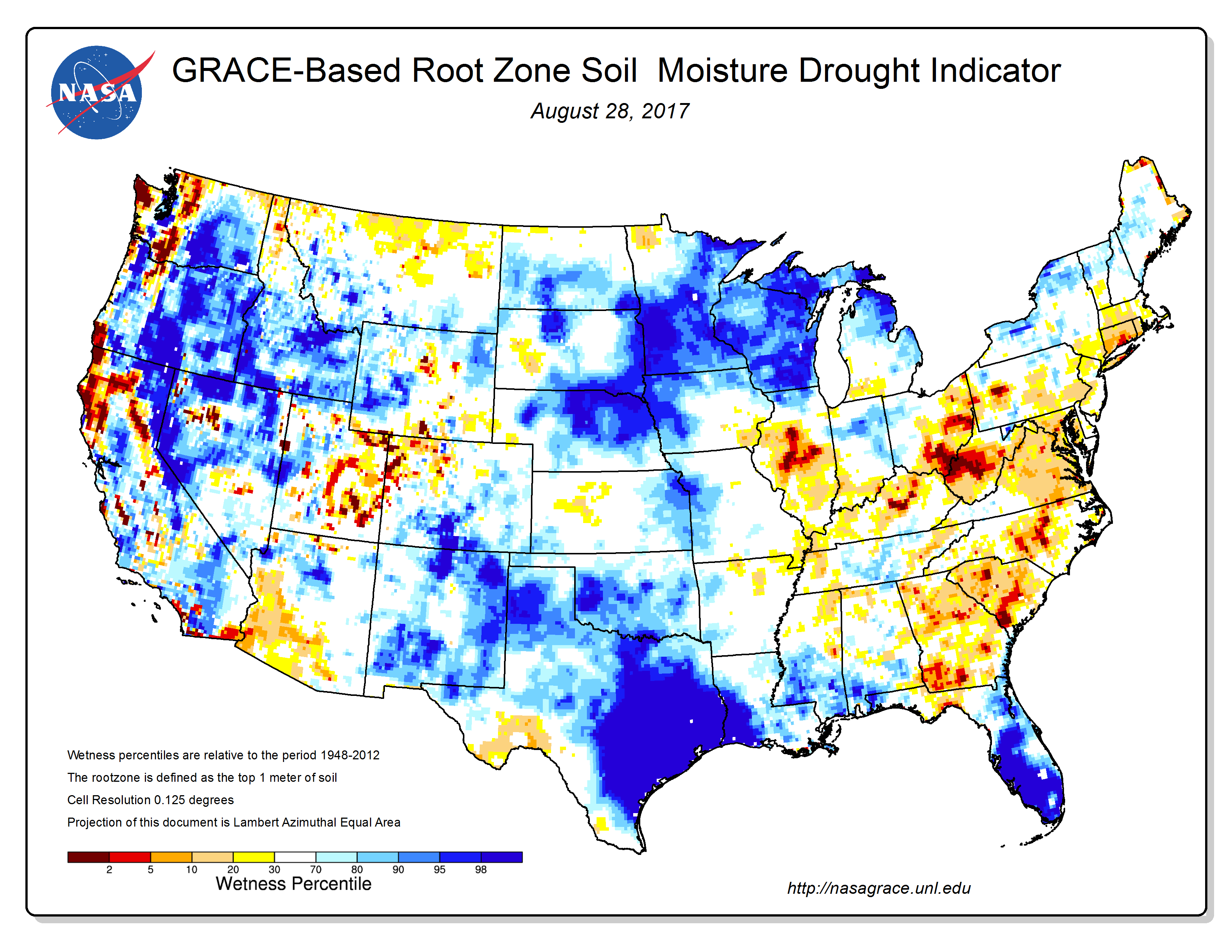 Drought August State Of The Climate National Centers - Us map indicating midwest zone