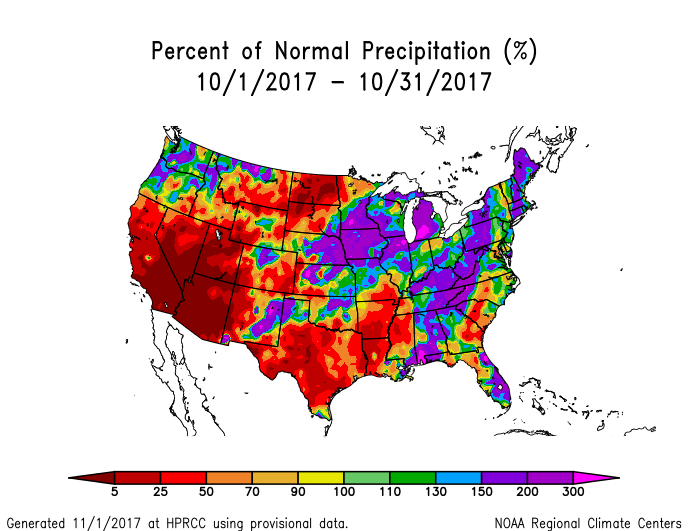 Map Of North East Us the resulting monthly precipitation anomaly