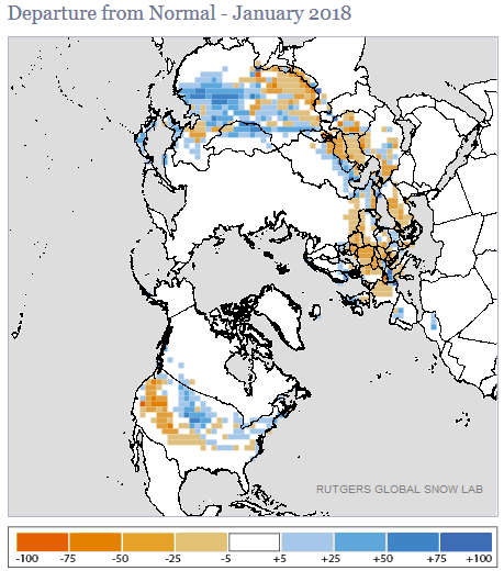 Global Snow and Ice - January 2018 | State of the Climate | National ...