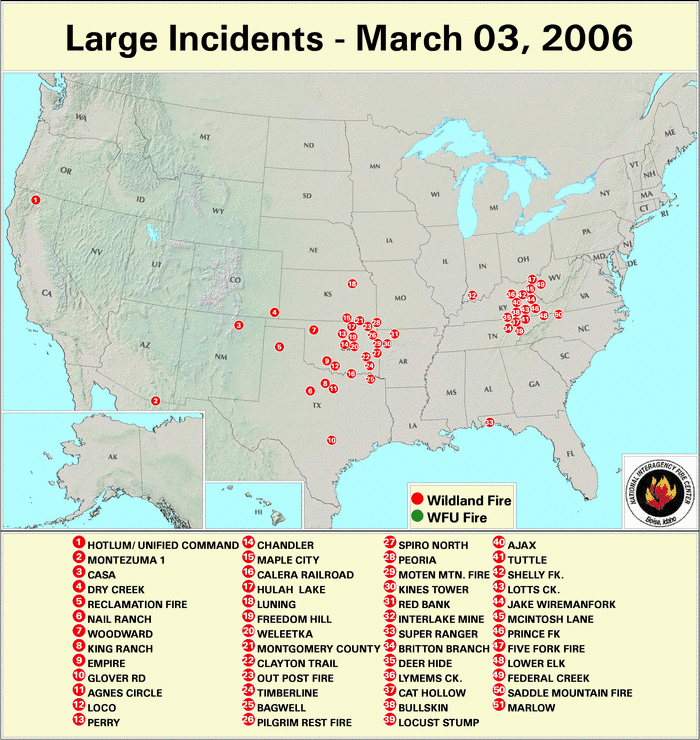 Wildfires February 2006 State Of The Climate National Centers