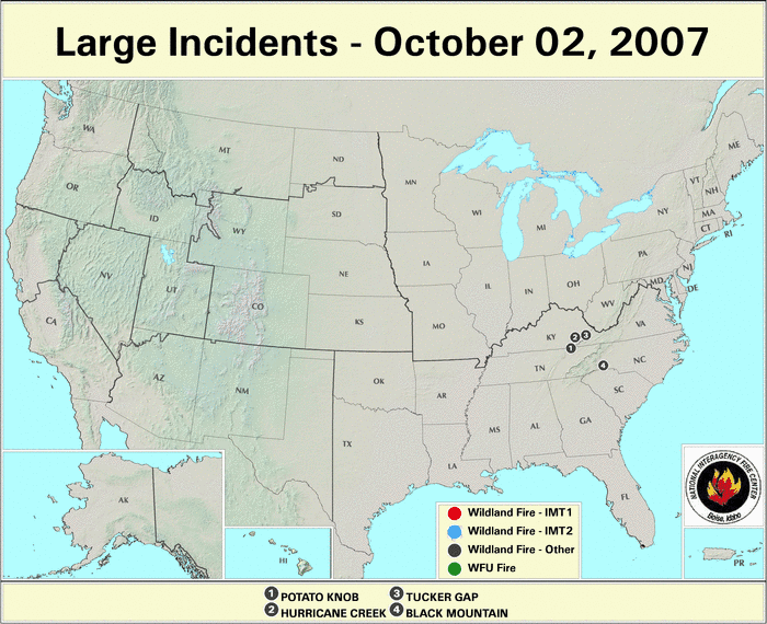 Wildfires September 2007 State Of The Climate National Centers