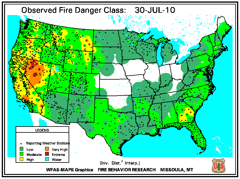 Wildfires August 2010 State of the Climate National Centers
