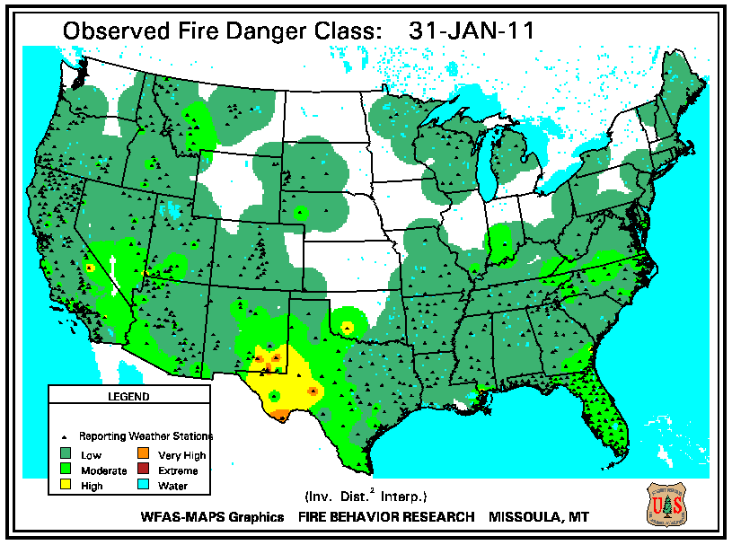 Wildfires January 2011 State Of The Climate National Centers