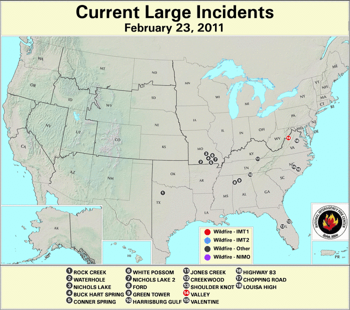 Wildfires February 2011 State of the Climate National Centers