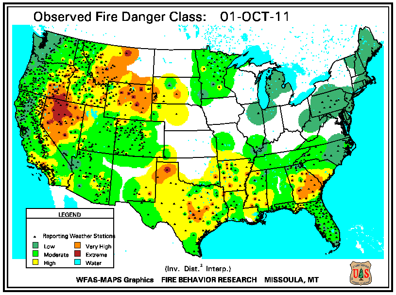 Wildfires   October 2011 | State of the Climate | National Centers