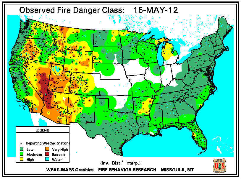 Wildfires May 2012 State of the Climate National Centers for