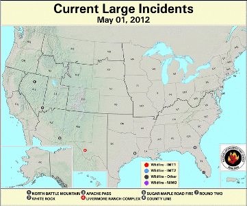 Large Wildfires May1