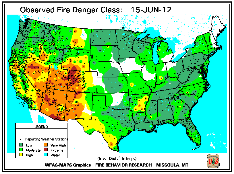 Wildfires June 2012 State of the Climate National Centers for