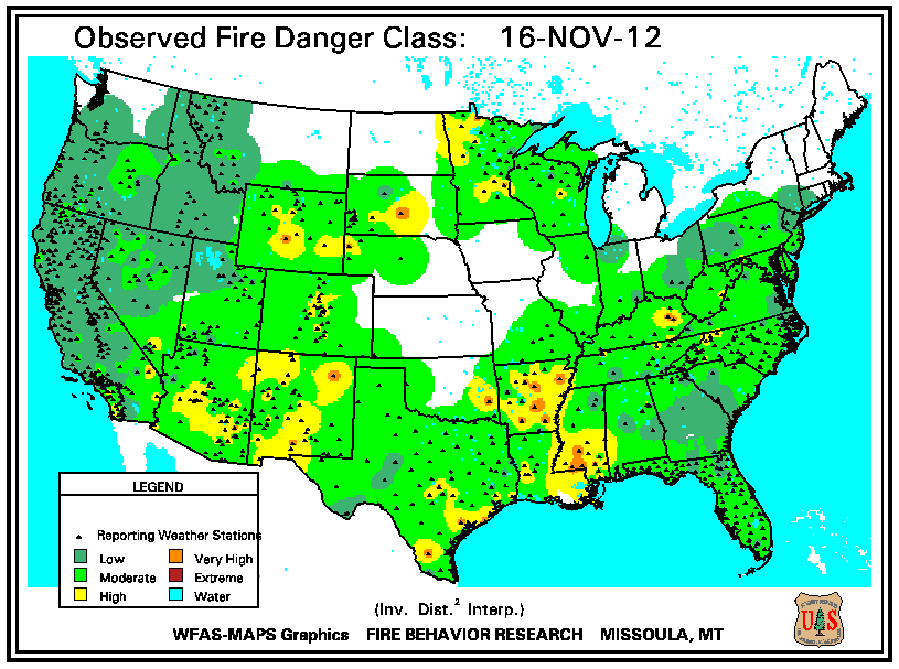 Wildfires November State Of The Climate National - Us forest service east tn wiildfires map