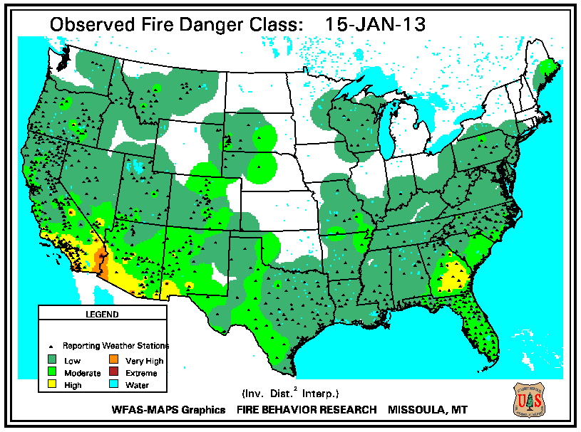 Wildfires January 2013 State Of The Climate National Centers