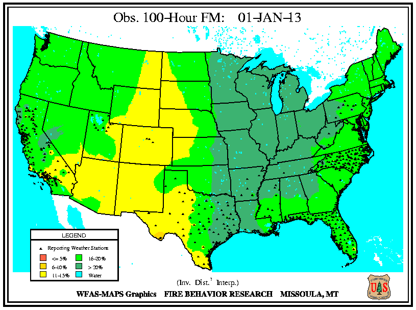 Wildfires January State Of The Climate National Centers - Us moisture map