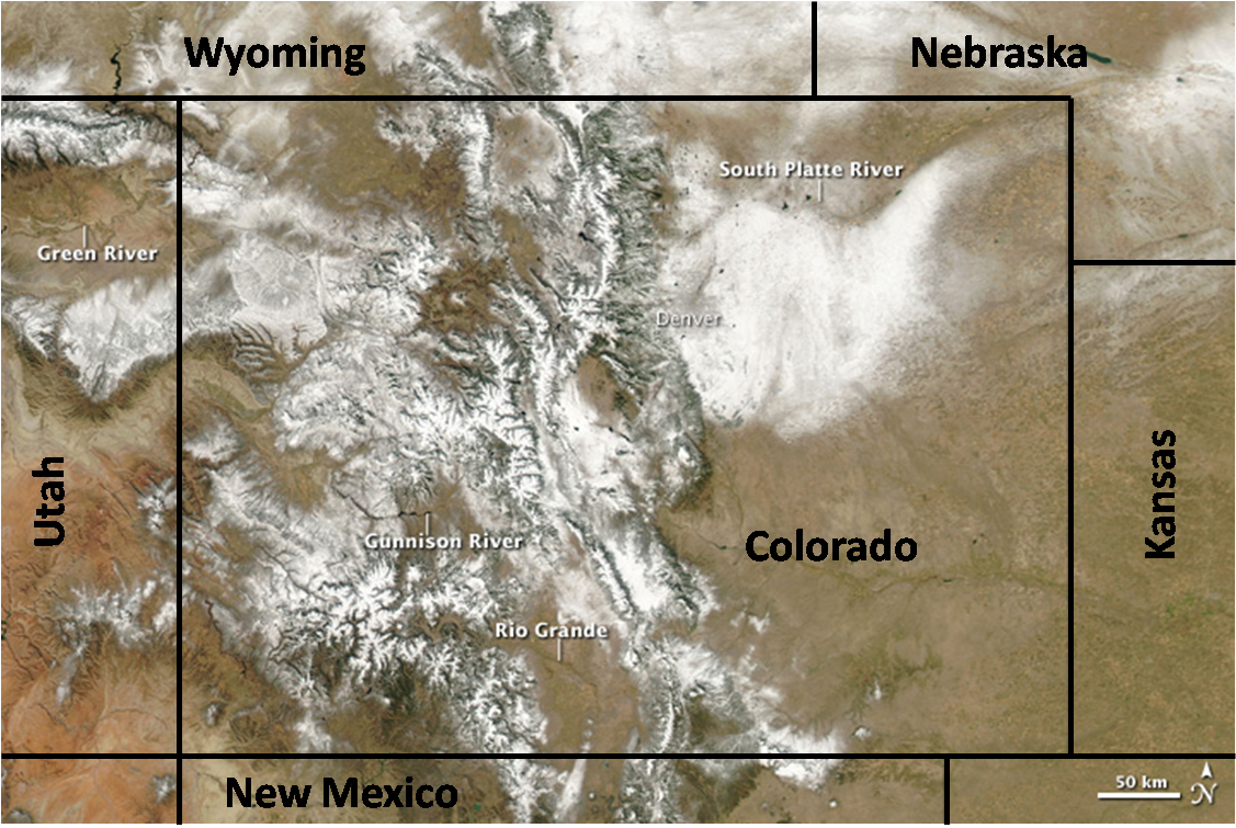 CO Snow Cover  31 Oct.
