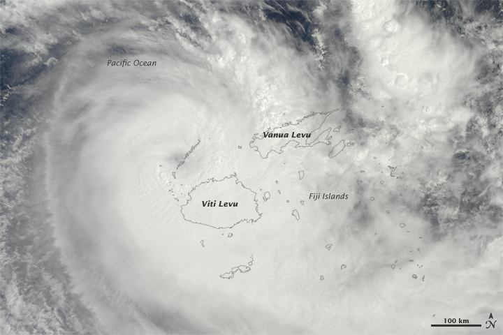 Tropical Cyclone Mick on December 14th