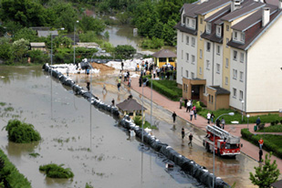 Flooding in Poland on 23 May 2010