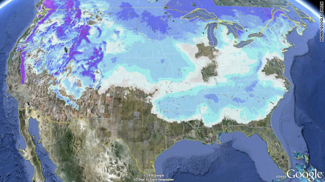 National Snow Ice January State Of The Climate - Us snowfall map 2012