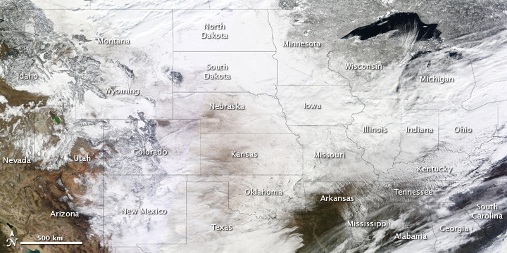 U.S. February 2nd Snow Cover