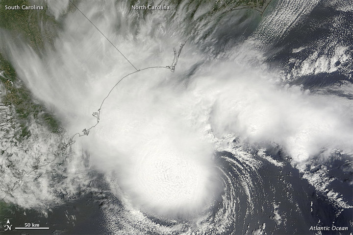 Tropical Storm Alberto on 19 May 2012
