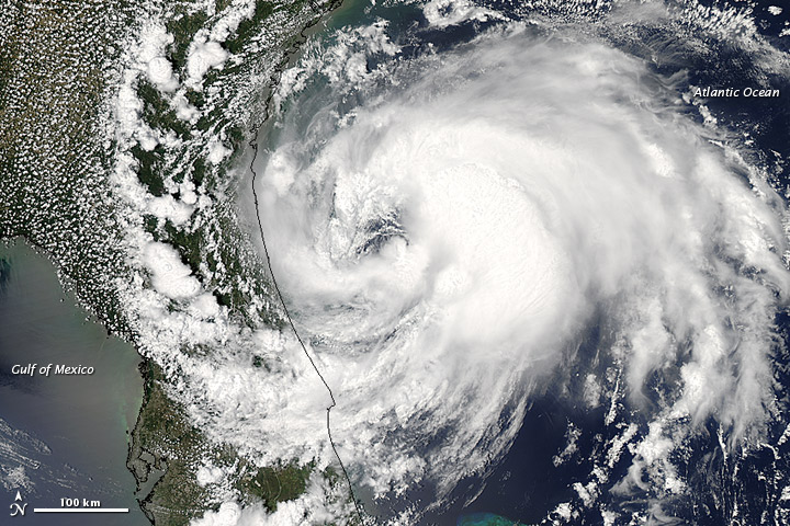 Tropical Storm Beryl on 27 May 2012