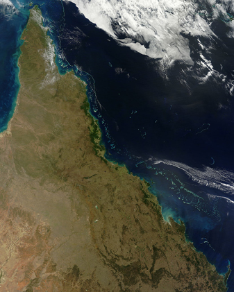 Australia's Great Barrier Reef from 13 August 2012 image