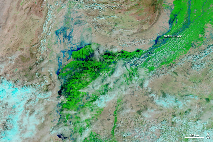 Central Pakistan Flooding on 13 September 2012