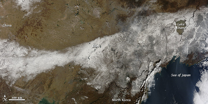 Northeast China snow on 23 October 2012