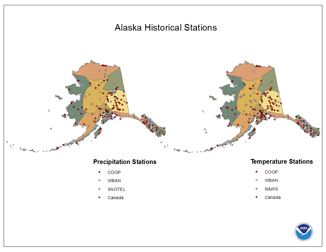 National Climate Report February  Alaska Climate Divisions - Map alaska superimposed us
