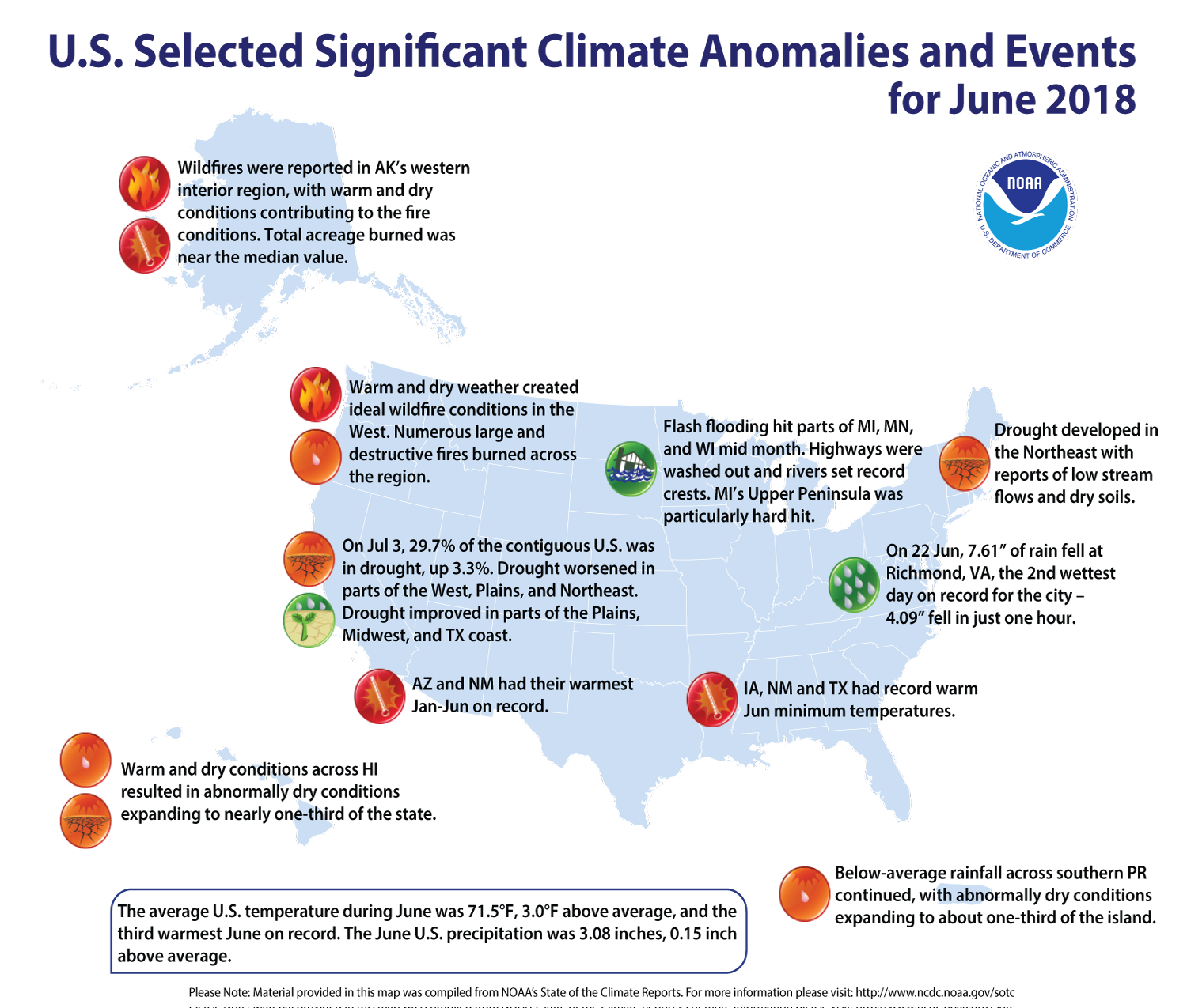 June Extreme Weather/Climate Events