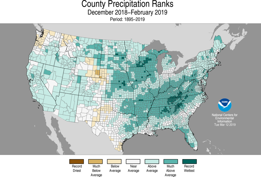 National Climate Report - February 2019   State of the
