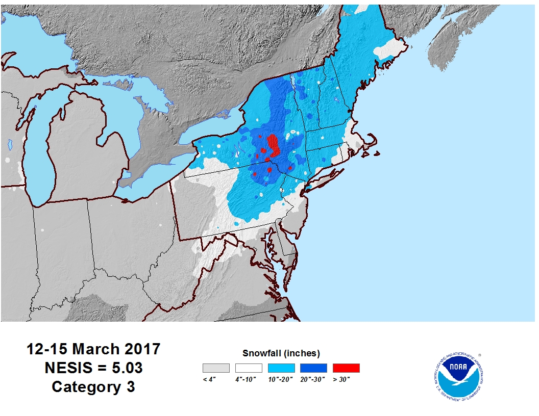 National Snow Ice March State Of The Climate National - Us snowpack map