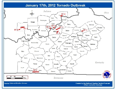 2012 Tornadoes To Date