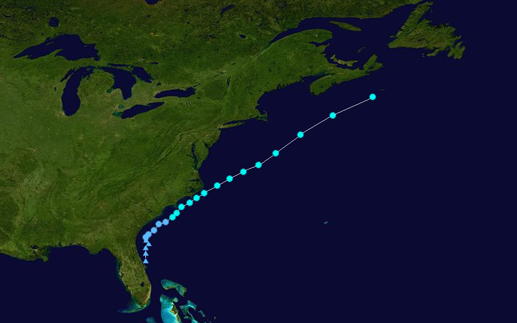 Tropical Storm Cristobal Track